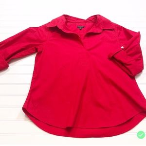 Talbots Petites size Sp Blouse Collared Pullover